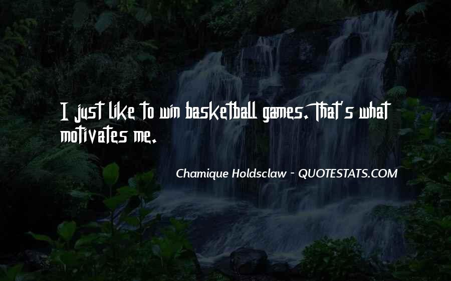 Chamique Holdsclaw Quotes #1843929