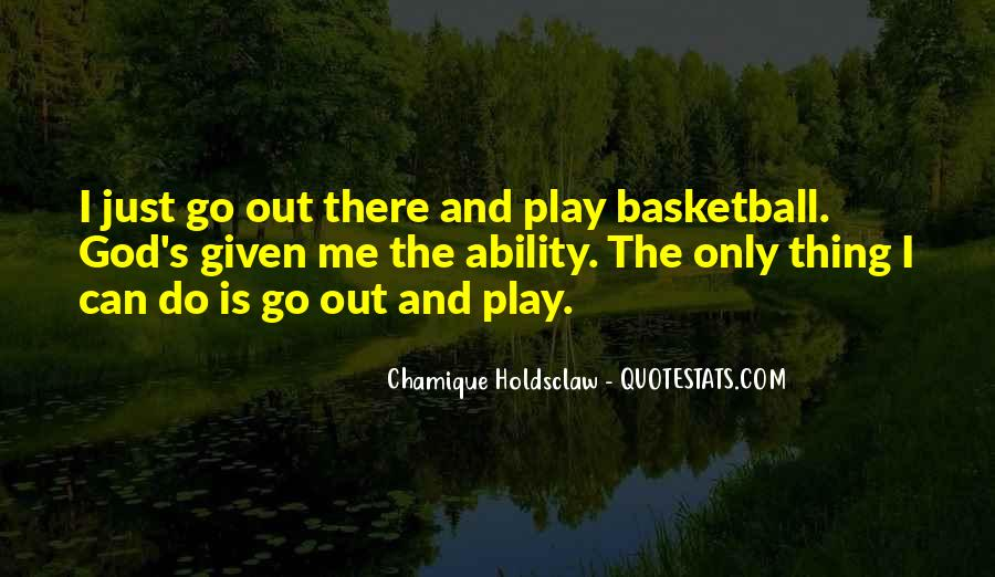 Chamique Holdsclaw Quotes #27058