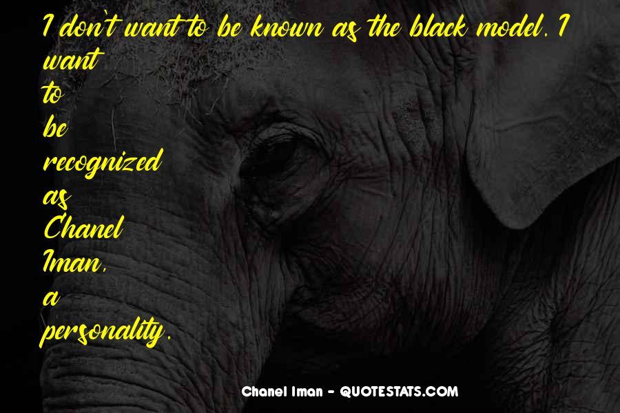 Chanel Iman Quotes #1085857