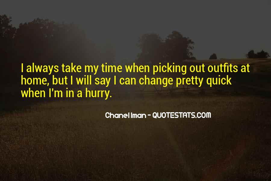 Chanel Iman Quotes #1106659