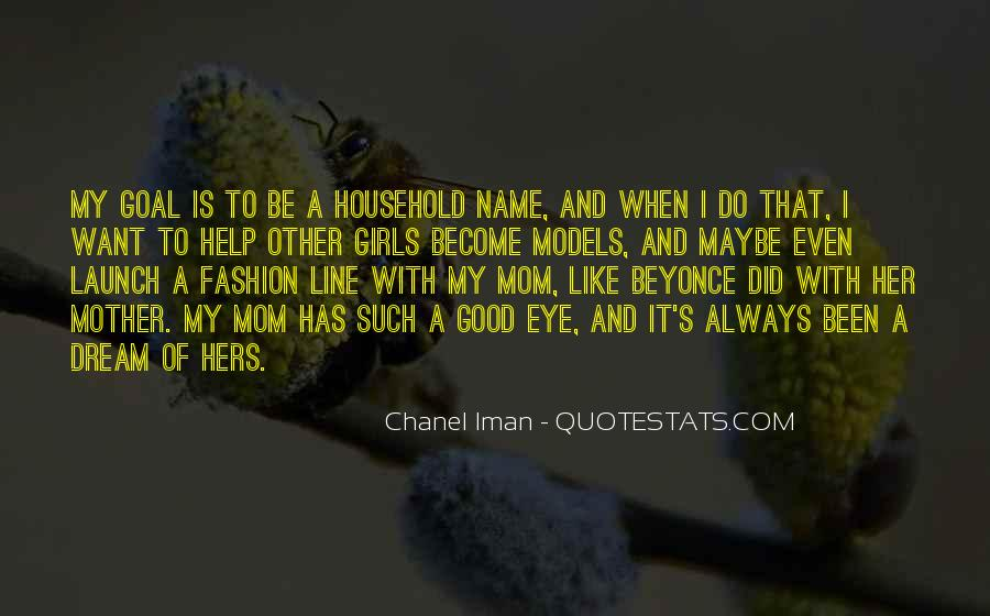 Chanel Iman Quotes #1575813