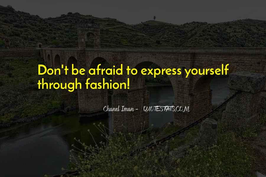 Chanel Iman Quotes #1823297