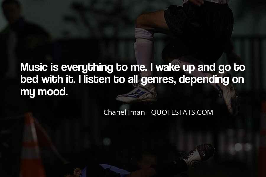 Chanel Iman Quotes #1858612