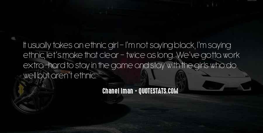Chanel Iman Quotes #259254