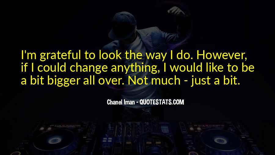 Chanel Iman Quotes #282019