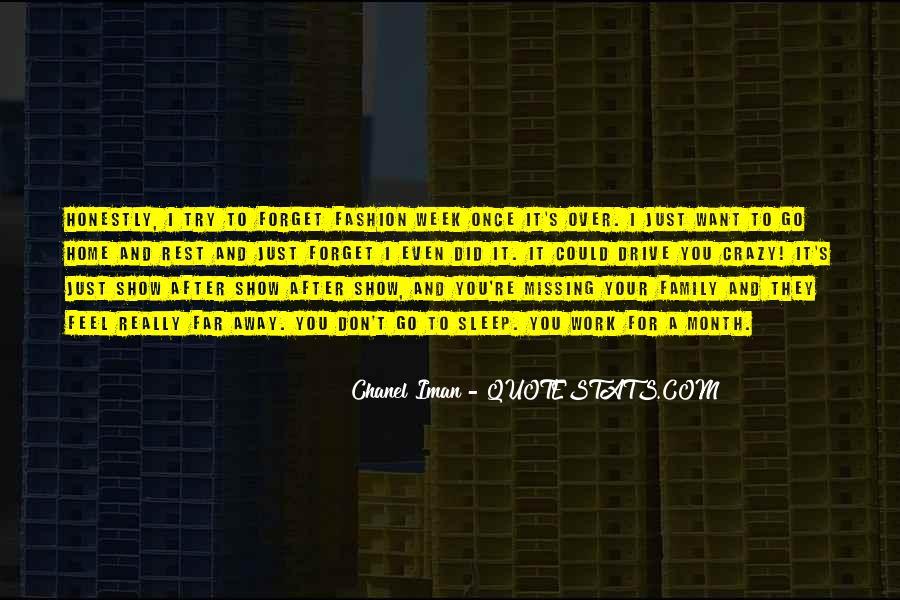 Chanel Iman Quotes #774061