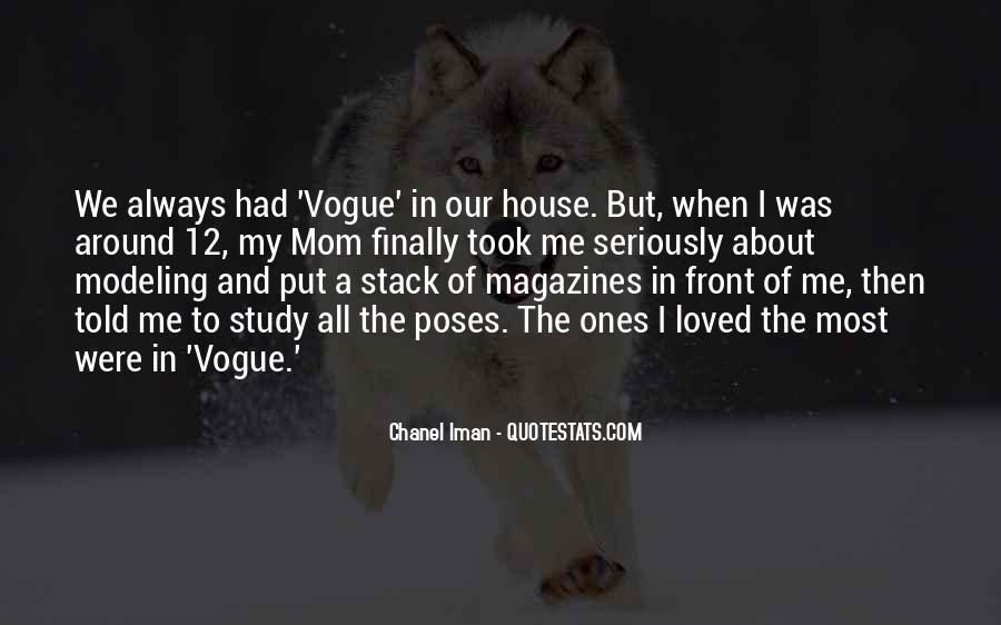 Chanel Iman Quotes #94876