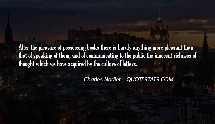 Charles Nodier Quotes #1341957