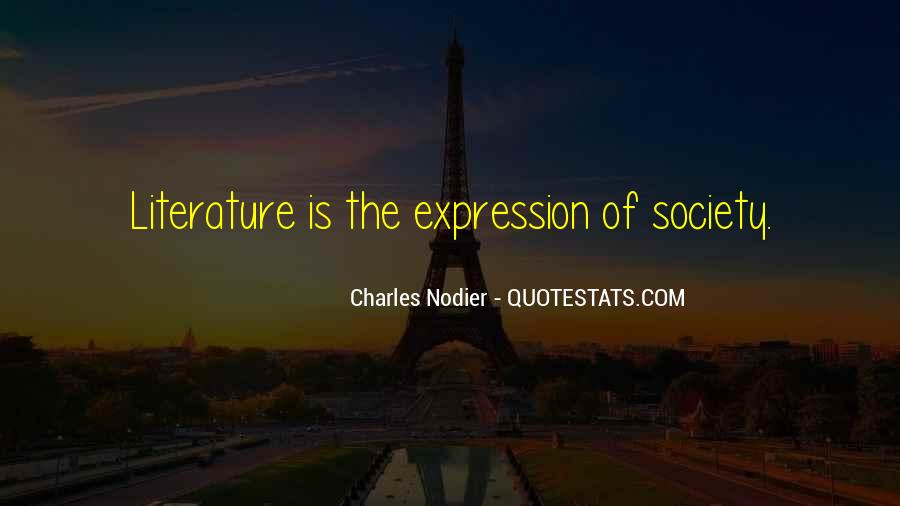 Charles Nodier Quotes #544810