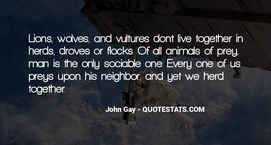 Quotes About Wolves And Lions #932722