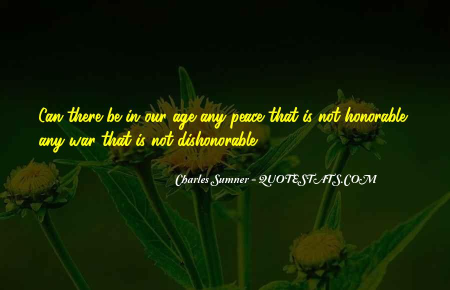Charles Sumner Quotes #920017