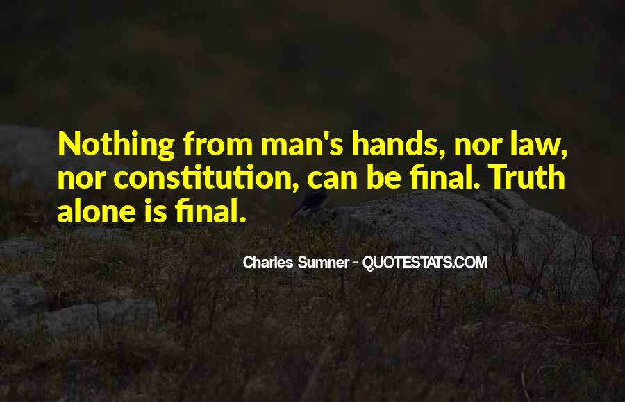 Charles Sumner Quotes #989829