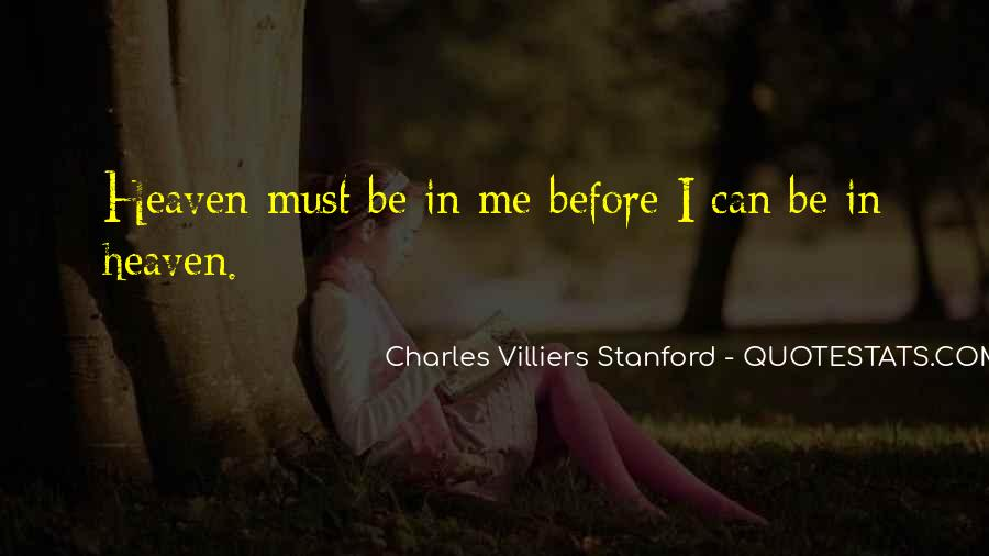 Charles Villiers Stanford Quotes #72566