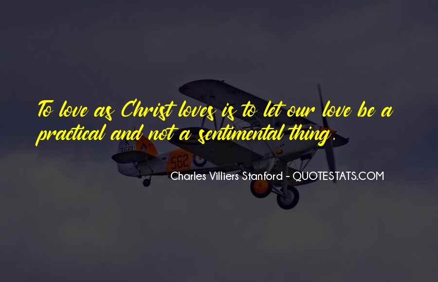 Charles Villiers Stanford Quotes #892234