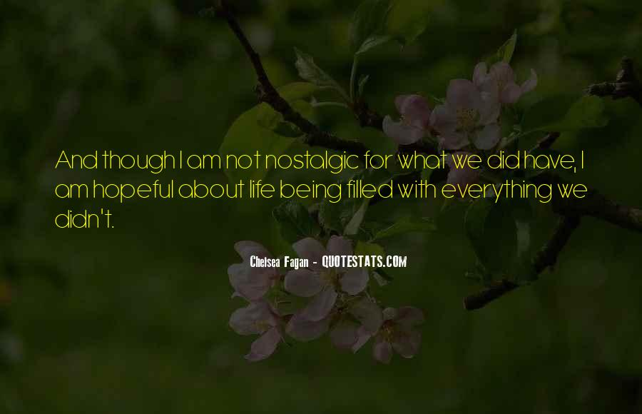 Chelsea Fagan Quotes #1051029