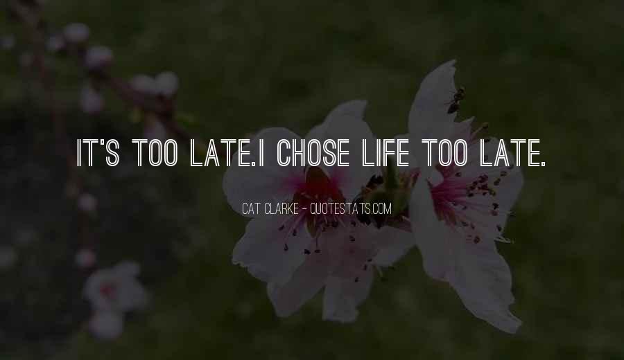 Chelsea Fagan Quotes #1227696