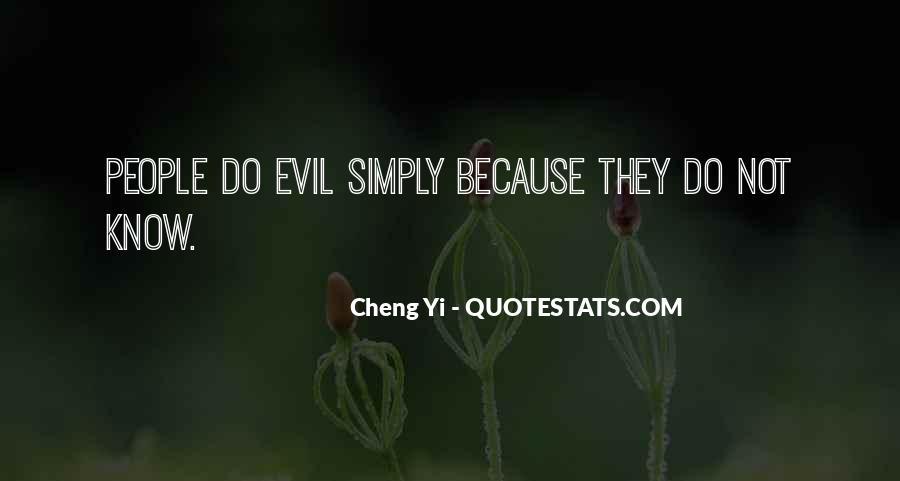 Cheng Yi Quotes #1479809
