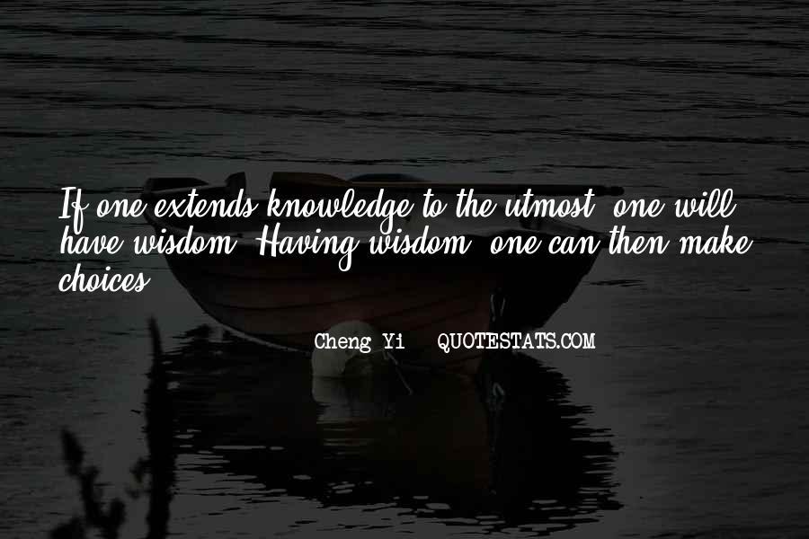 Cheng Yi Quotes #1852445