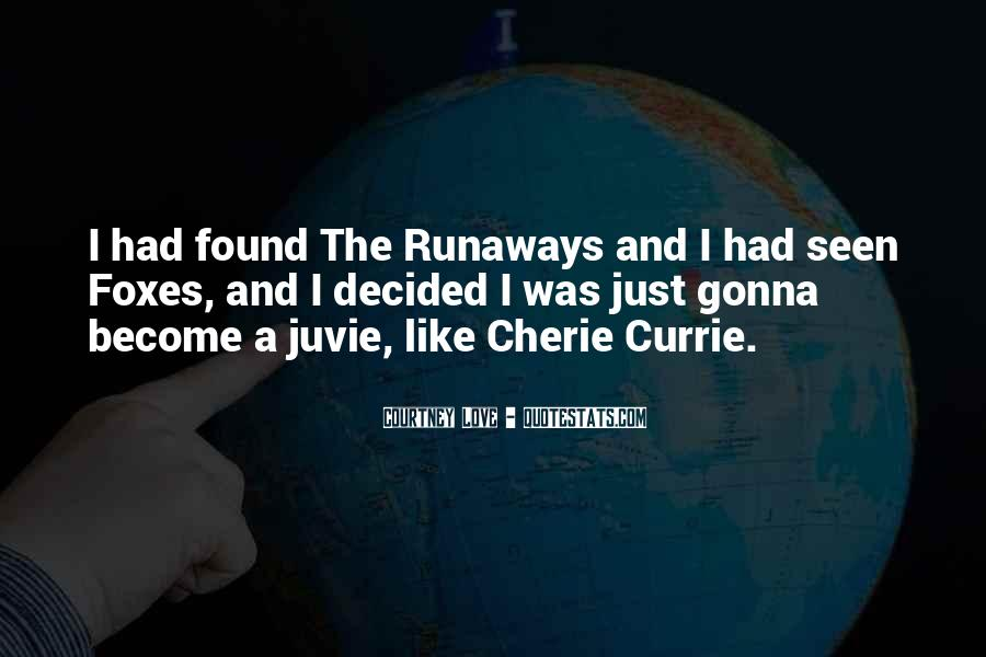 Cherie Currie Quotes #864252