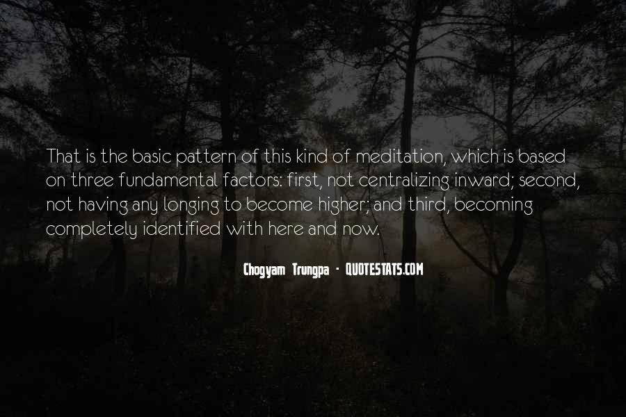 Chogyam Trungpa Quotes #268988