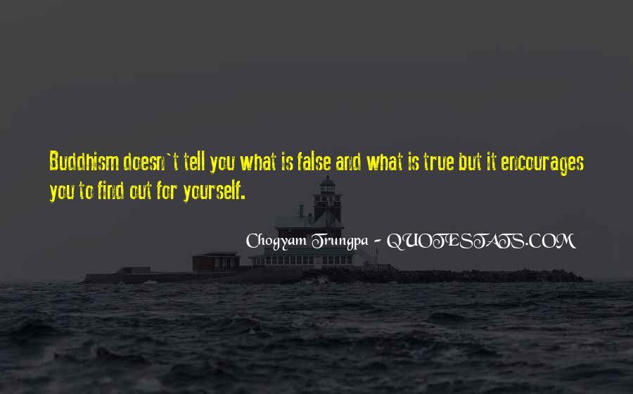 Chogyam Trungpa Quotes #402731
