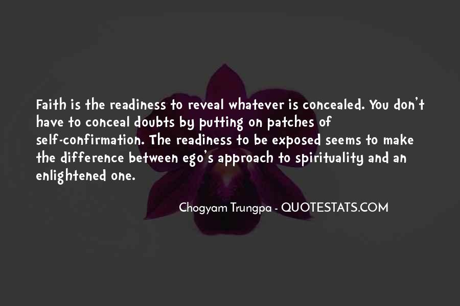 Chogyam Trungpa Quotes #677412