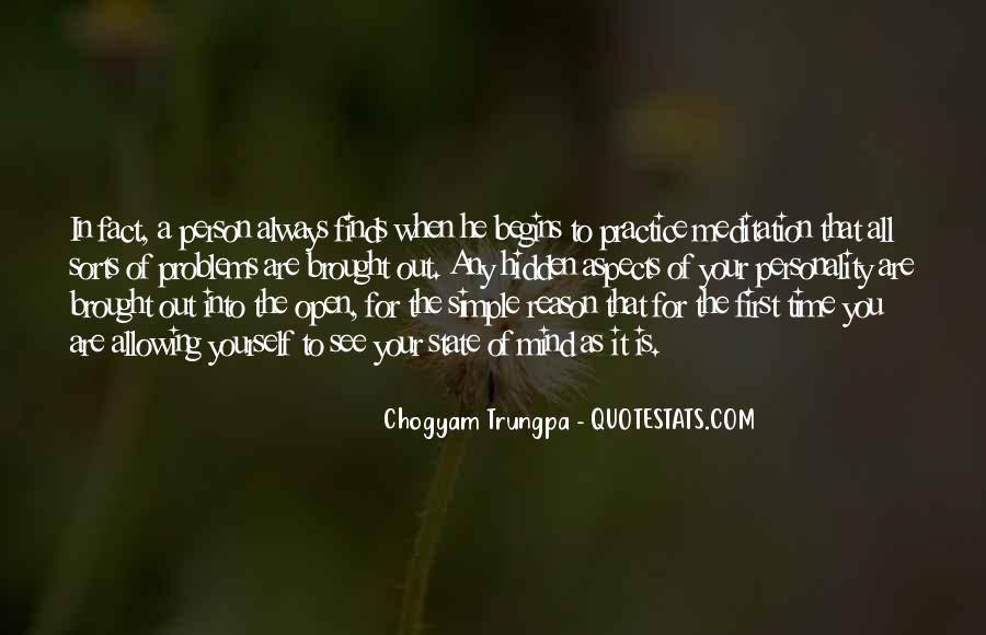 Chogyam Trungpa Quotes #753128