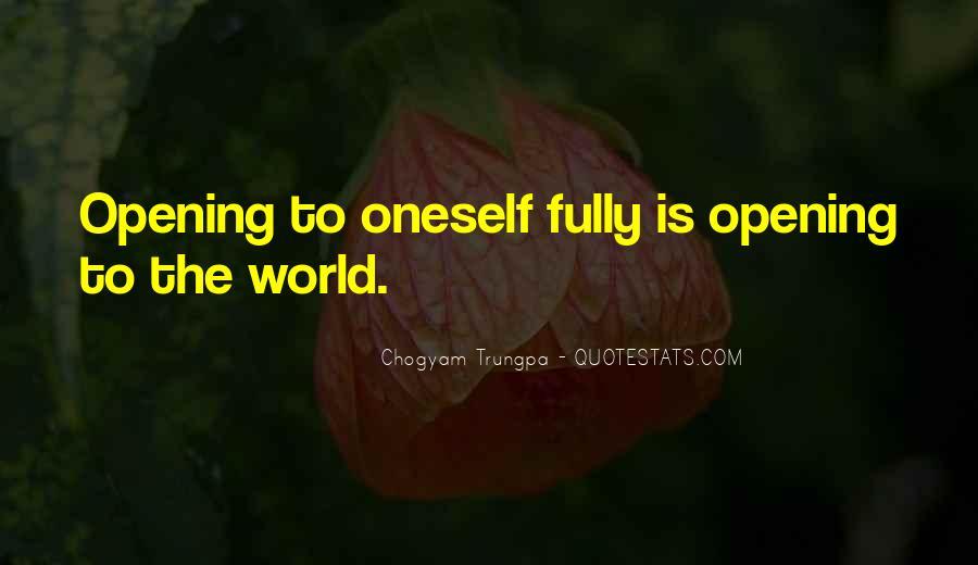 Chogyam Trungpa Quotes #9735