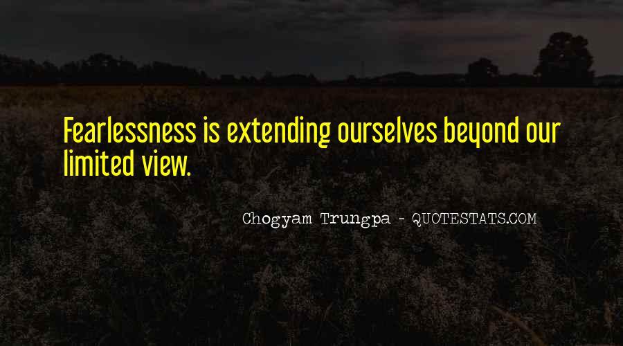 Chogyam Trungpa Quotes #976321