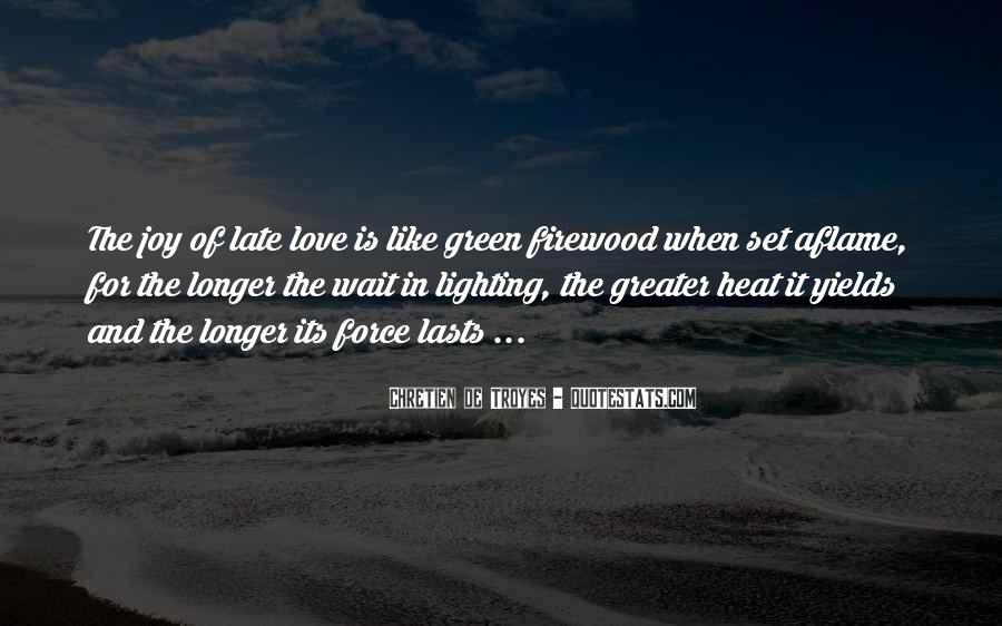 Chretien De Troyes Quotes #1848378