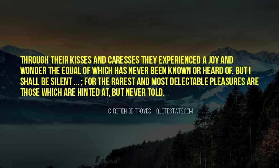 Chretien De Troyes Quotes #669687
