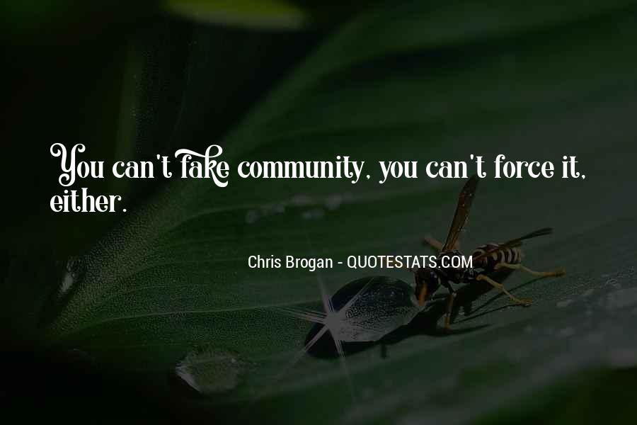 Chris Brogan Quotes #514218