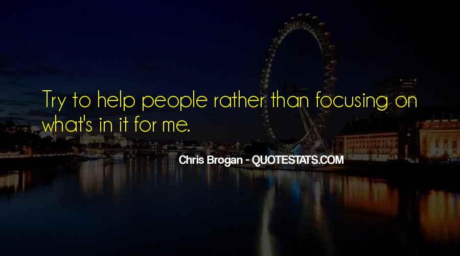 Chris Brogan Quotes #718197