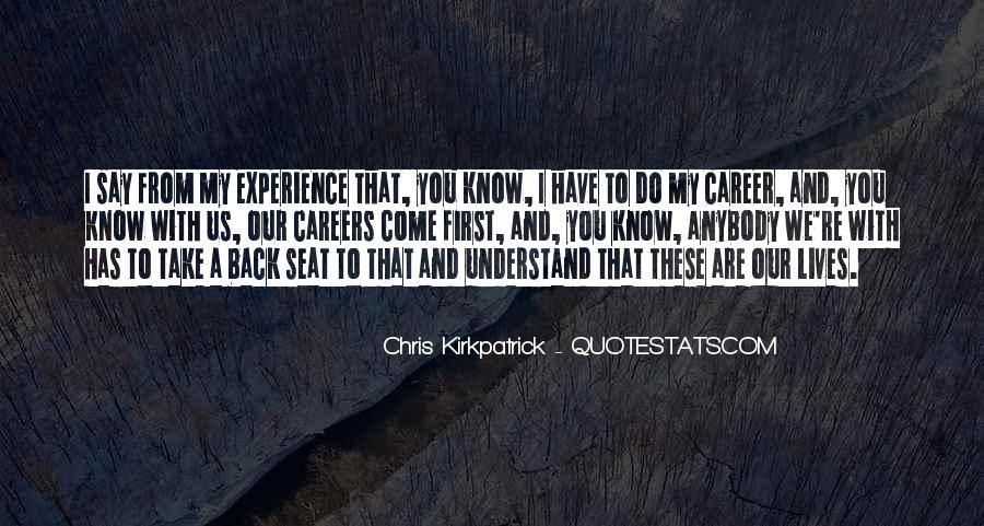 Chris Kirkpatrick Quotes #260451