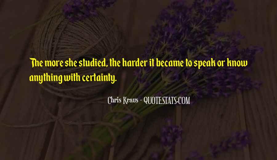 Chris Kraus Quotes #1169155
