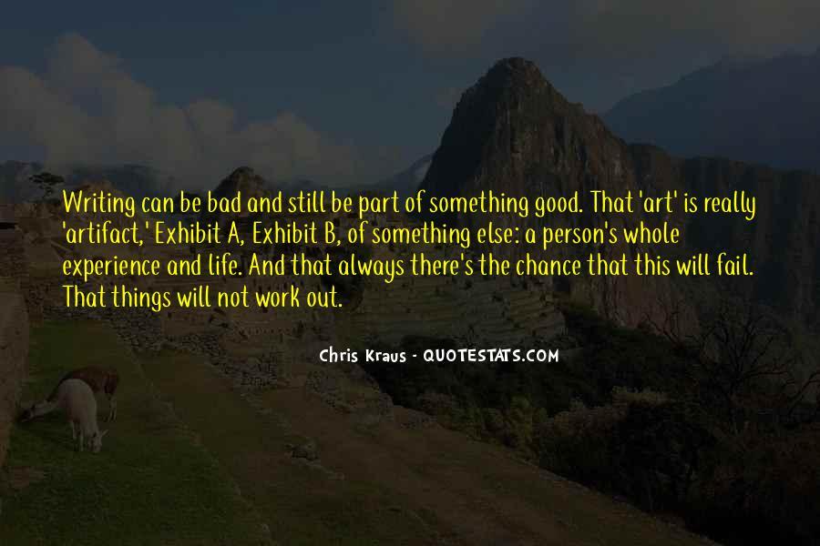 Chris Kraus Quotes #1257893