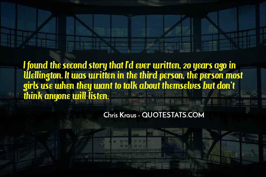 Chris Kraus Quotes #1661833