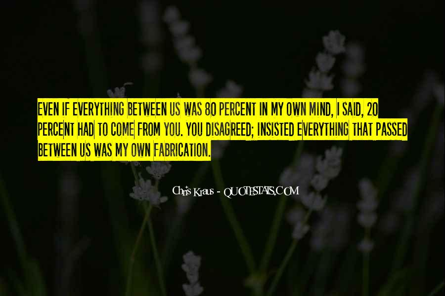 Chris Kraus Quotes #185627