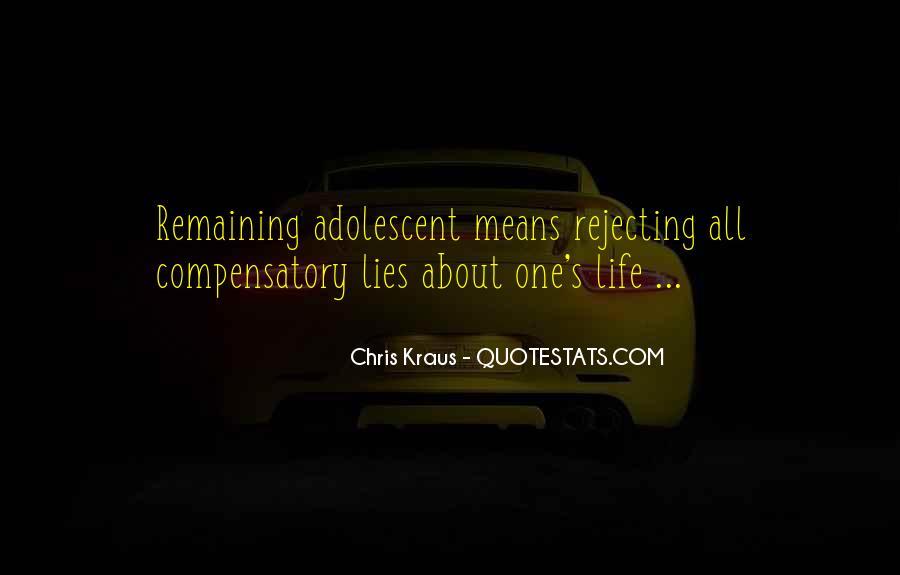 Chris Kraus Quotes #248837