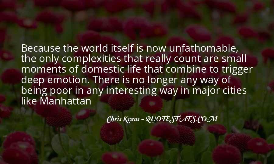 Chris Kraus Quotes #936436