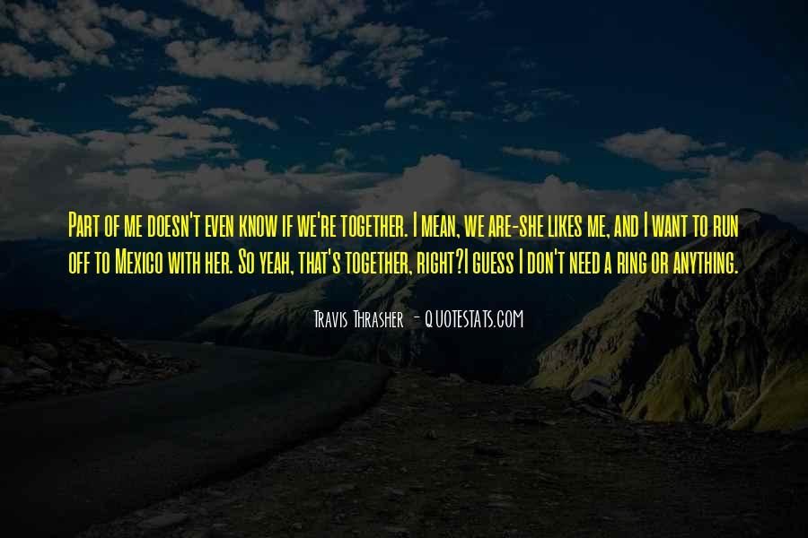Chris Travis Quotes #333872