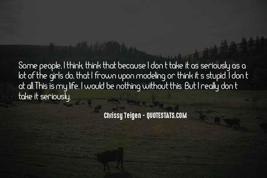 Chrissy Teigen Quotes #1340547