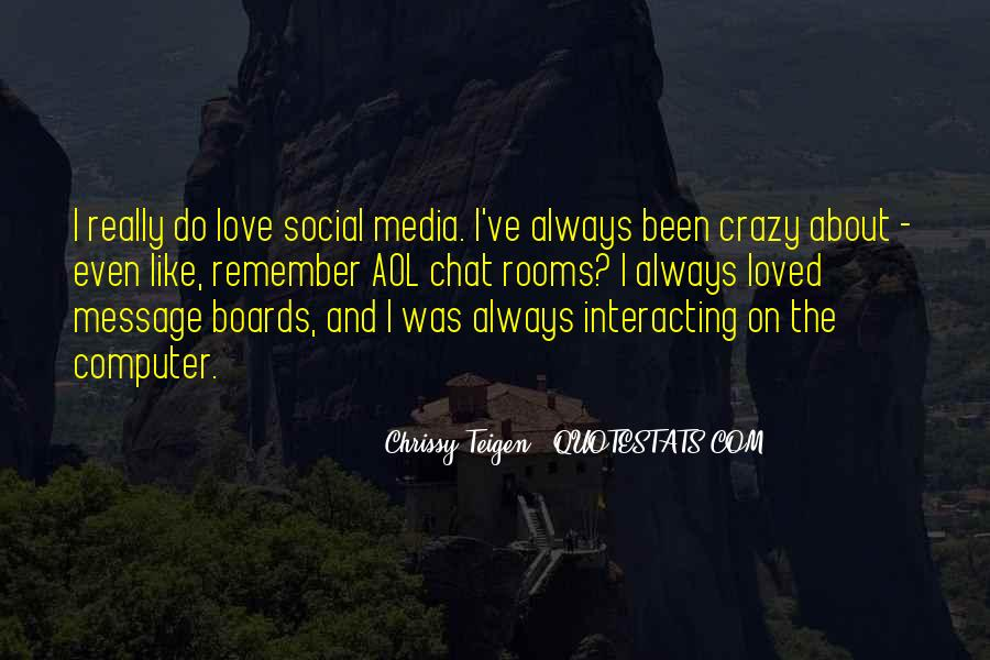 Chrissy Teigen Quotes #258354