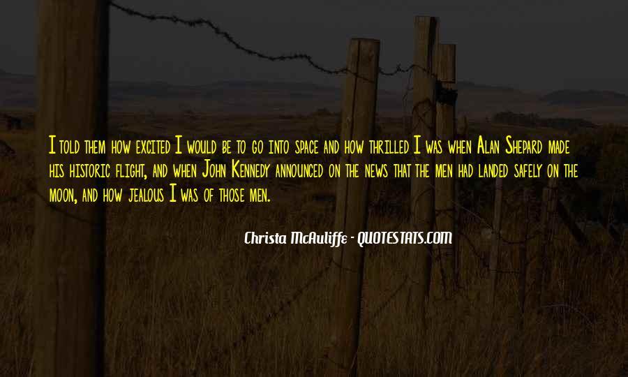 Christa Mcauliffe Quotes #1303612