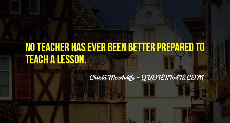 Christa Mcauliffe Quotes #1438658
