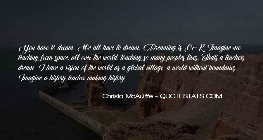 Christa Mcauliffe Quotes #1517673