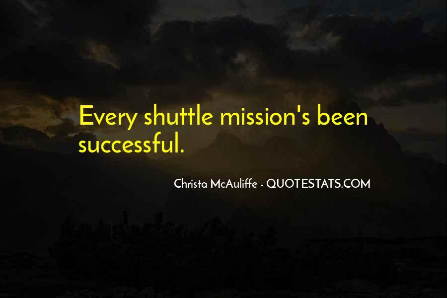 Christa Mcauliffe Quotes #227038