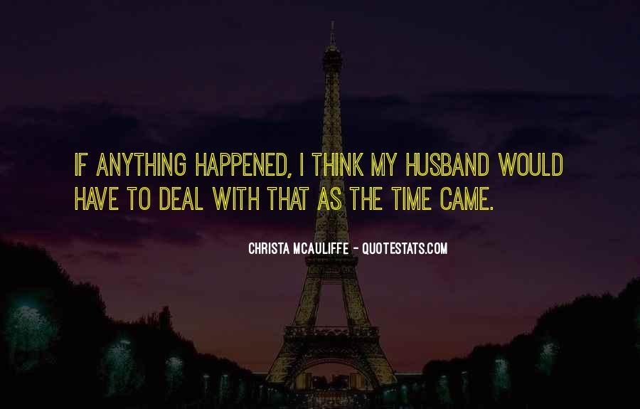 Christa Mcauliffe Quotes #289924