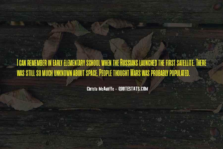 Christa Mcauliffe Quotes #356934