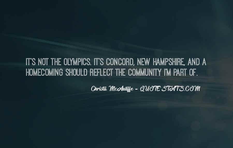 Christa Mcauliffe Quotes #384931